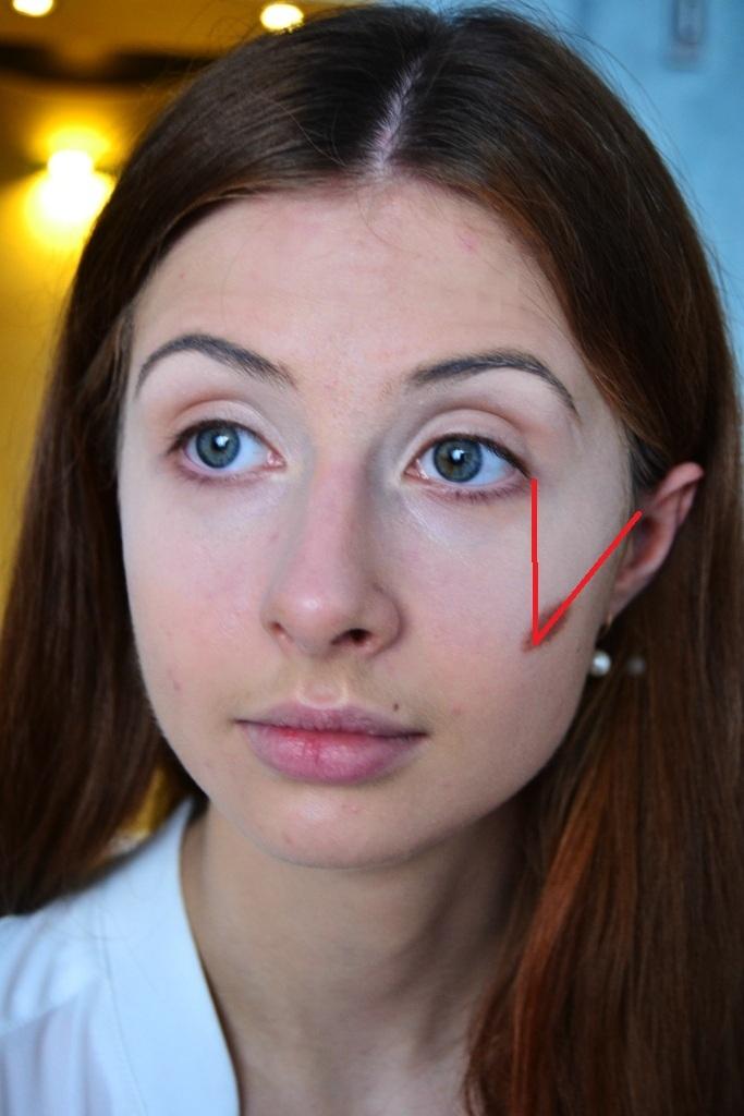 Как сделать на своем лице скулы 48